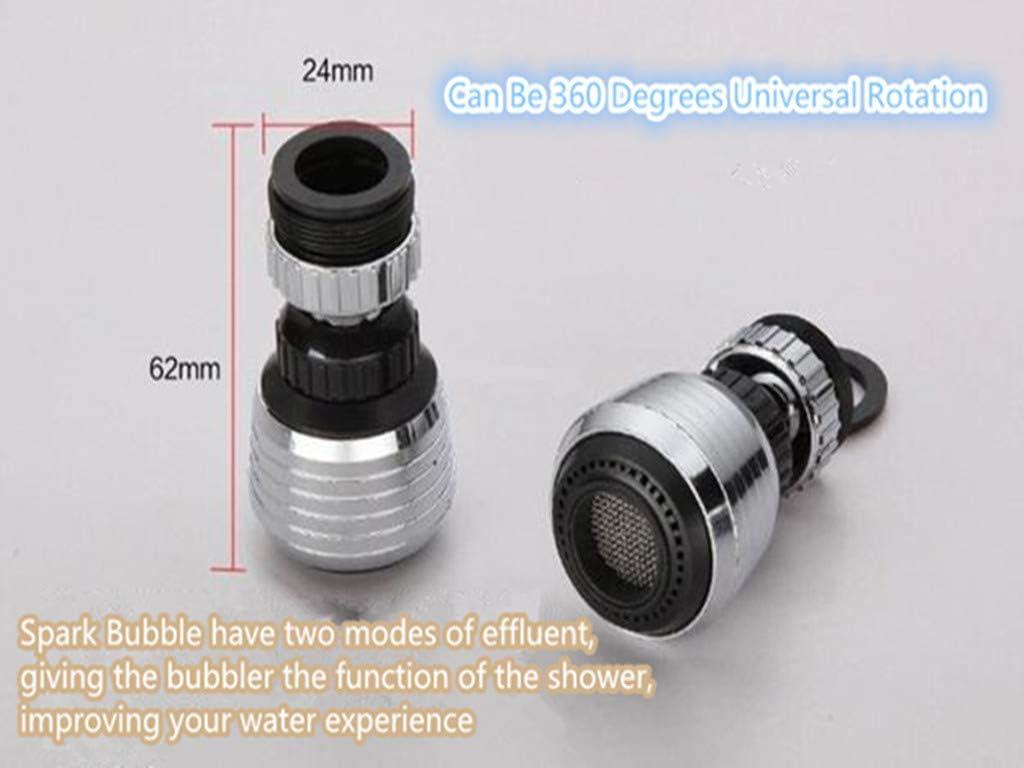 6 * 4 * 4 CM Feinny 360 Rotateur De Robinet Cuisine /à Buse Adaptateur Filtre Eau Robinets Douche Lavabo T/êTe Mobile Et Intelligente Ajustable