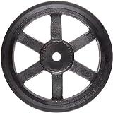 "Martin 2BK130 P/B Plain Bore FHP Sheave, 4L/5L or B Belt Section, 2 Grooves, 1"" Bore, Class 30 Gray Cast Iron, 12.75"" OD, 1946 max rpm, 12 Datum/12.4 Datum"