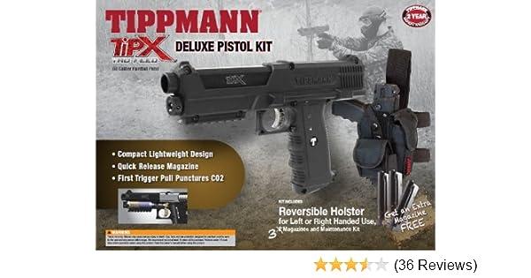Tippmann TiPX  68 Caliber Deluxe Paintball Pistol Kits