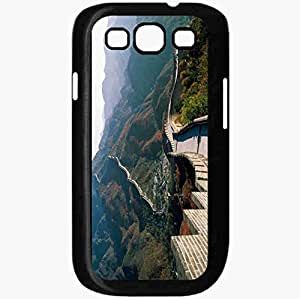 Unique Design Fashion Protective Back Cover For Samsung Galaxy S3 Case Great Wall Wall Of China China Construction Landmark Black