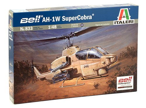 Italeri 1:48 Aircraft No 833 Bell Ah-1w Super Cobra