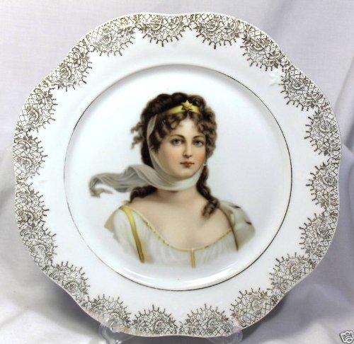 Vintage Queen Louise Z.S. Mignon Bavaria Plate