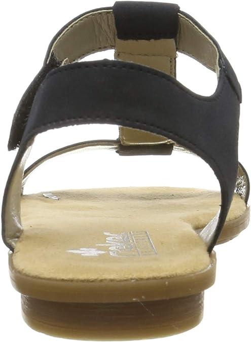 Rieker Damen 65172 14 Geschlossene Sandalen: WYSsD