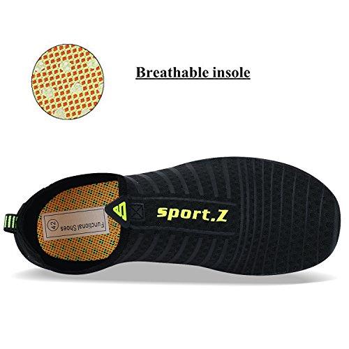 4 negro Para Escarpines Zapatos De Hombre Agua Mujer Deportes Wysbaoshu ROnHSwq8U8