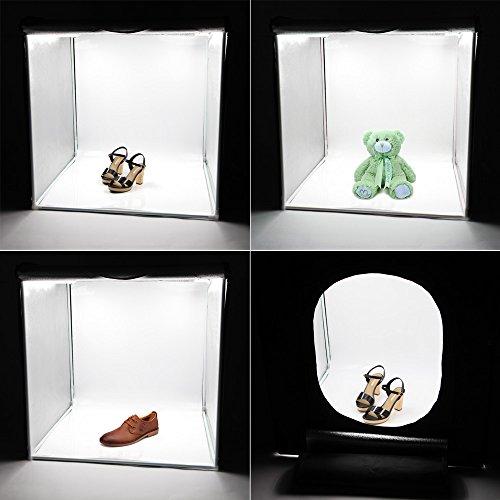 Studio Lighting Box: Andoer LED Professional Portable Softbox Box 42 42cm LED