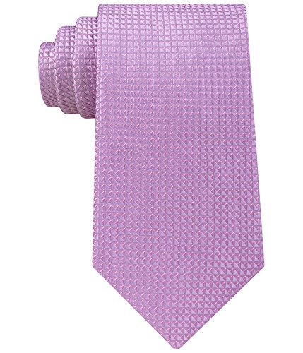 Sean John Men's Diamond Solid Unsolid Tie, Medium Purple One Size