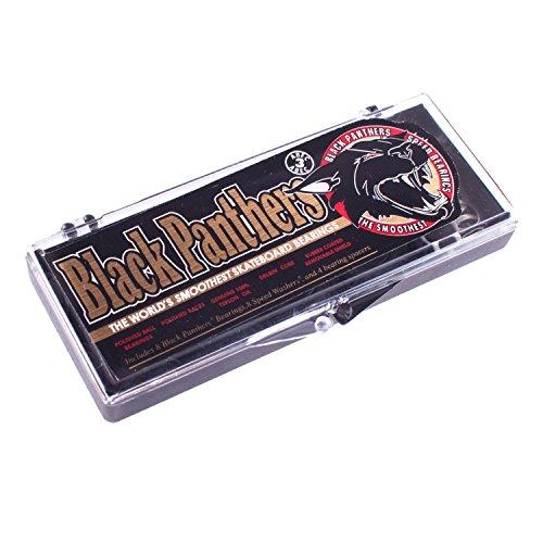 Shorty's Abec-3 Black Panthers Bearings