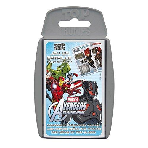 Winning Moves 0673 - Jeu De Cartes Et De Bataille - Avengers