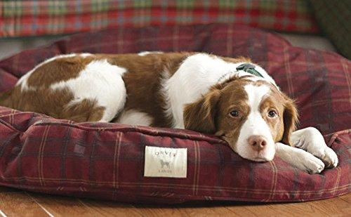 Orvis Beads (Orvis Dog's Nest with Beads/Cedar Round XLARGE FIELD TARTAN)
