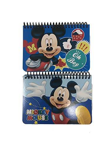 """Disney Mickey Mouse """"Oh Boy"""" Autograph Book, 2 pc"""