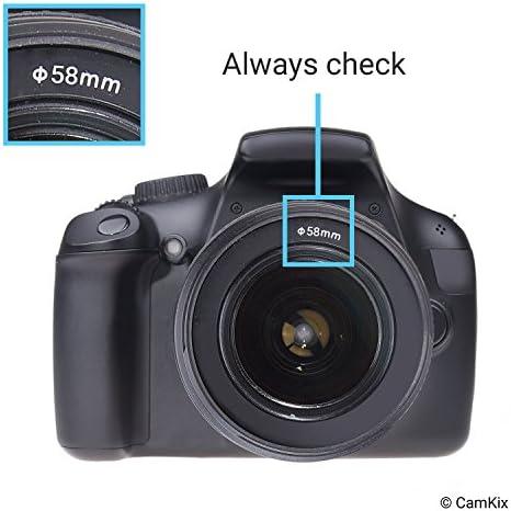 2 Kamera Objektiv Sonnenblenden 1 Objektivkappe Kamera