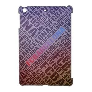 FC Barcelona Logo Image Snap On Hard Plastic Ipad Mini Case