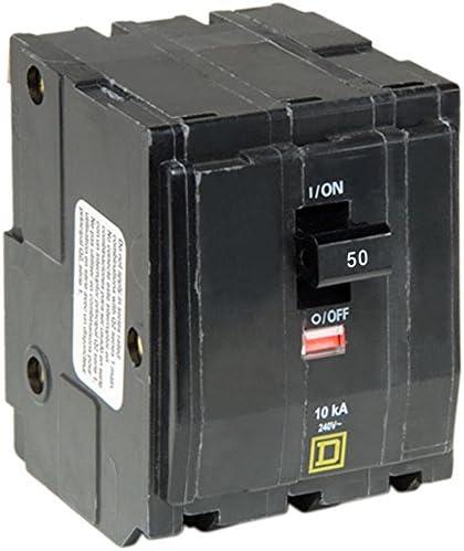 Square D by Schneider Electric QO350CP QO 50 Amp Three-Pole Circuit Breaker,