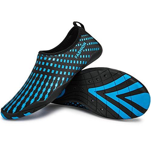 blue Pool Yoga Lekuni Beach Drying For Aqua Quick Men's Gym Barefoot Women's Sports Swimming 61 Water Shoes CqnvaCF