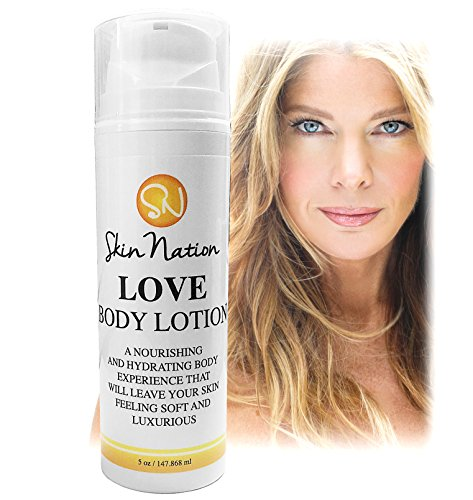 Body Lotion - Highly Moisturizing & Anti Aging - Made With Organic Natural Ingredients - Aloe Vera, Vitamin E, Coconut Oil, Shea Butter, Cocoa, Jojoba & Macadamia Oil. Skin Nation By Michelle Stafford