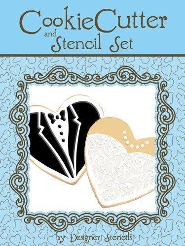 Cutter & Stencil Set by Designer Stencils by Designer Stencils (Groom Cookie Cutter)
