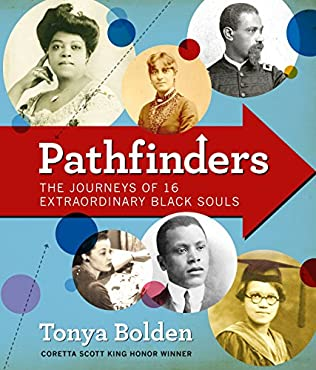 book cover of Pathfinders: The Journeys of 16 Extraordinary Black Souls