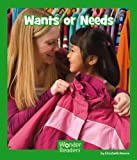 Wants or Needs, Elizabeth Moore, 1476523657
