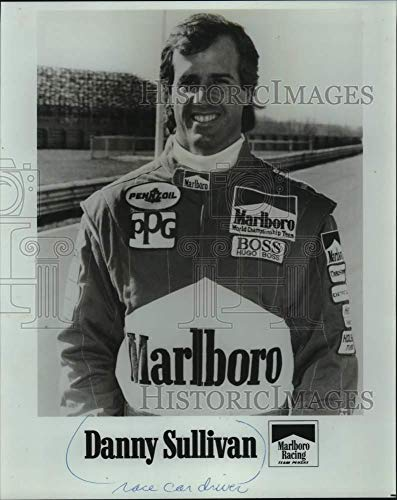(1990 Press Photo Indianapolis Race Car Driver And 500 Winner Danny Sullivan - Historic Images)