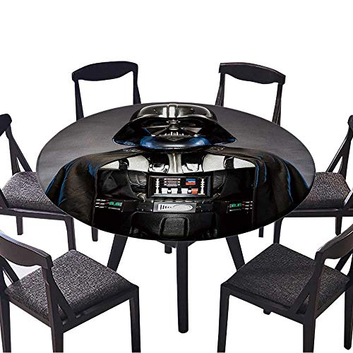 The Round Table Cloth SAN Benedetto DEL TRONTO,Italy May,Portrait of Darth Vader Costume Replica for Birthday Party, Graduation Party 59