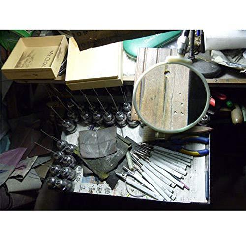 FidgetFidget Crochet Hooks Stainless Steel Wood Handle Redwood Knitting Needles 上海钩针檀木柄刘长安 22 pcs Set by FidgetFidget (Image #7)