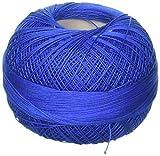 Handy Hands Lizbeth Premium Cotton Thread, Size 40, Royal Blue