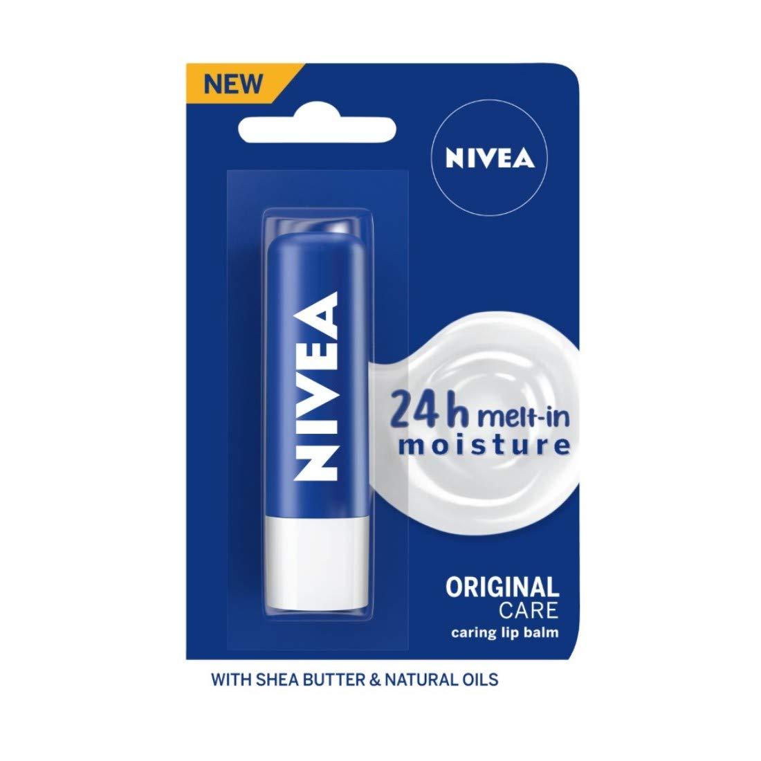 NIVEA Lip Balm, Essential Care, 4.8g product image
