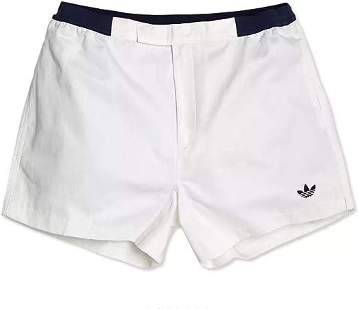 adidas Pantalones Cortos para Hombres Tela Blanca S08013 / 013: Amazon.es: Ropa y accesorios