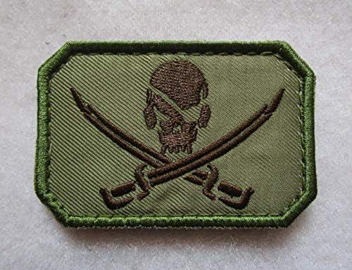 Jack Navy Seal - Parche bordado de bandera pirata DEVGRU NSW 3D táctica militar con lazos y gancho: Amazon.es: Juguetes y juegos