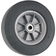 Flat Proof Replacement Wheel  - 10-Inch -  300 lb. Load Capacity  -  For use on Wheelbarrows, Wagons, Carts, & Many Other Products