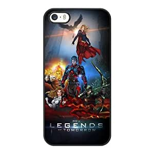 Wunatin Hard Case ,iPhone 5 5S Cell Phone Case Black legends of tomorrow [with Free Tempered Glass Screen Protector]5691265307659