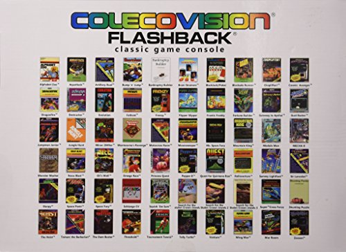 Colecovision atgames flashback classic game console - Atgames sega genesis classic game console game list ...
