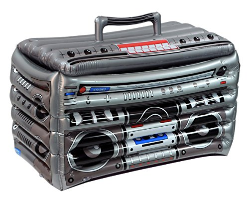 Beistle 57103 1-Pack Inflatable Boom Box Cooler, 24-Inch by 16-Inch]()