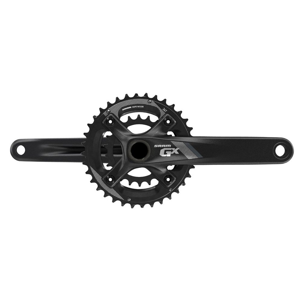 Amazon.com : SRAM GX Fat 1000 GXP 11 Speed Black 34/24T Crankset Without  Bottom Bracket, 175mm : Sports & Outdoors