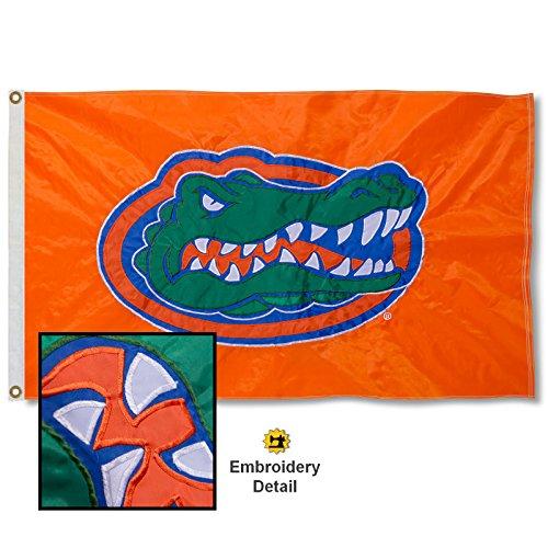 University of Florida Embroidered and Stitched Nylon Flag
