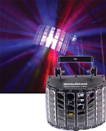 Light Led Derby (Solena Mini Derby DMX LED Effect Light - New)