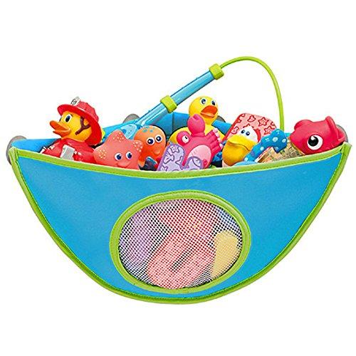 Munchkin Corner Baby Bath Toy Organiser - Blue