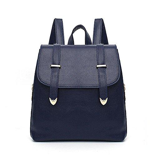 Aoligei Femmes sac à dos version coréenne fashion Girl sac école vent lady sac voyage sac à dos E