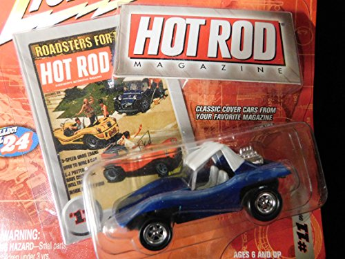 Dune Buggy (blue) Hot Rod Magazine Cover Edition 1:64 scale die-cast by Johnny Lightning