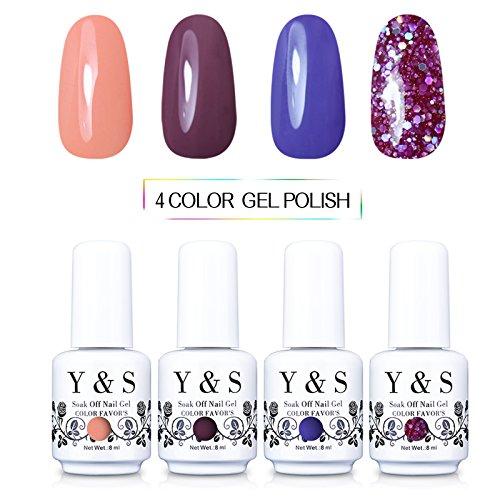 Yaoshun Gel nail polish Soak-off UV LED Nail 8ml -kit#022
