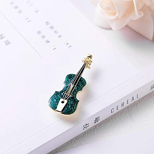 BJINUIY Joyas Broches Mujer Niñas Caja de Regalo, Forma de violín ...