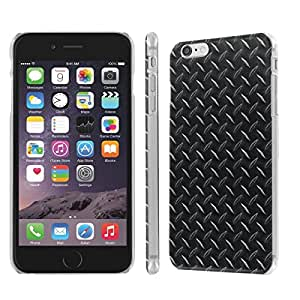 NakedShield Iphone 6 (4.7) (Black Diamond Plate) SLIM Art Phone Cover Case