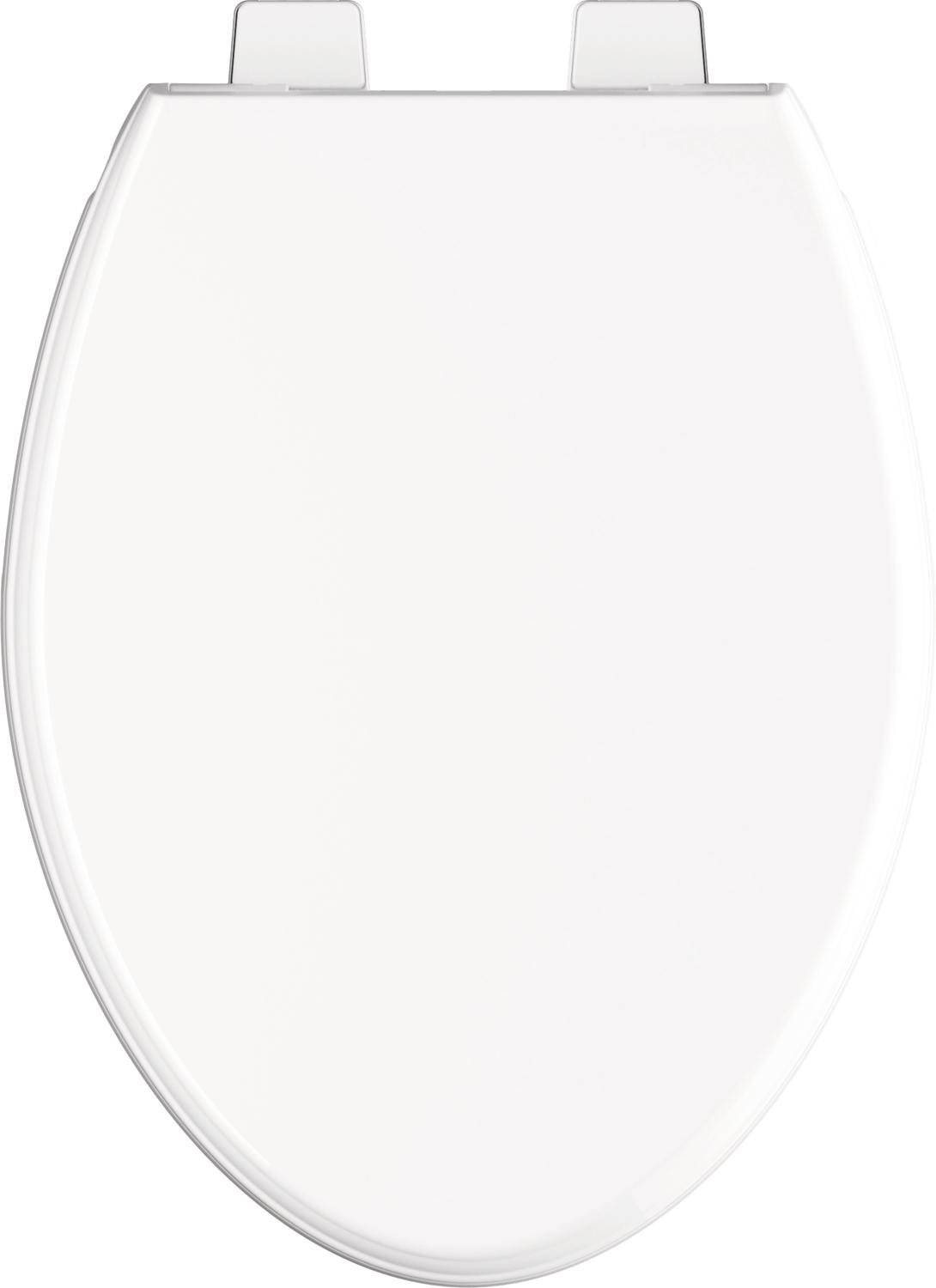 Delta Faucet 811901-WH Wycliffe Elongated Slow-Close Toilet Seat with Non-slip Seat Bumpers, White by DELTA FAUCET (Image #3)