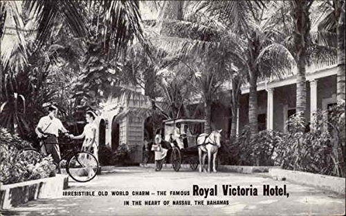 (Irresistible Old World Charm - The Famous Royal Victoria Hotel Bahamas Original Vintage Postcard)