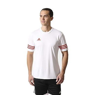 a86f31db9b3 Adidas Mens Entrada 14 climalite Training T-shirt: Amazon.co.uk: Clothing