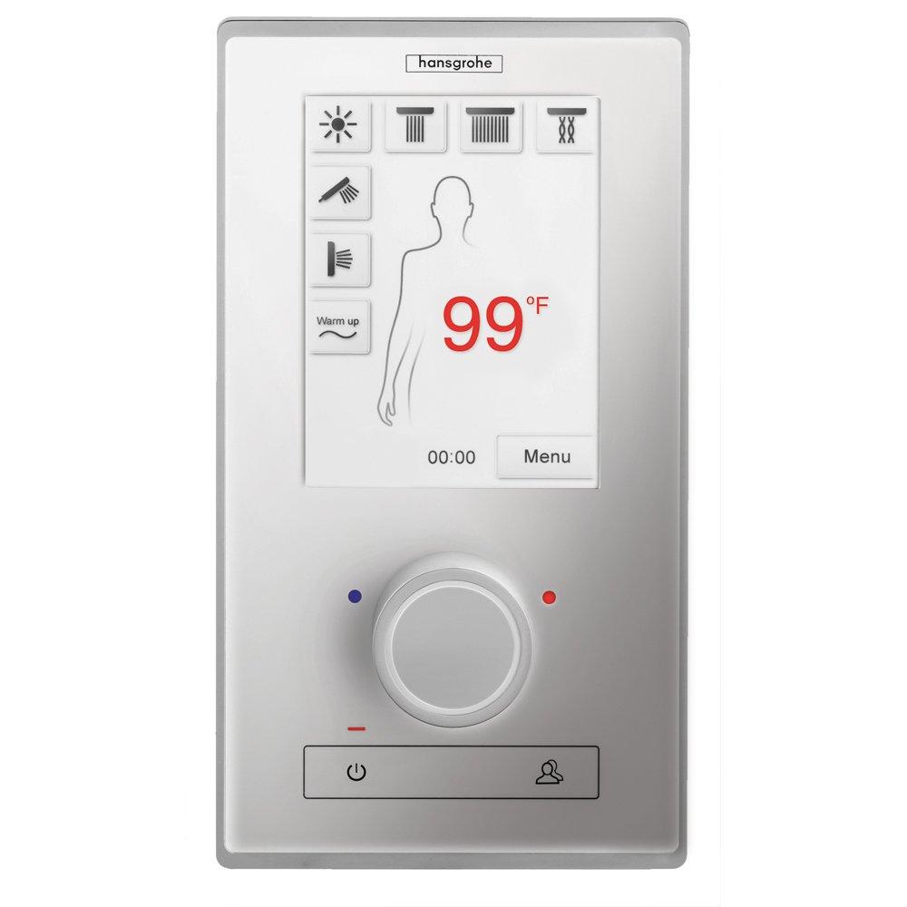 Hansgrohe 15841001 Rainbrain Thermostatic Electronic Shower Trim Set,  Chrome   Tub Filler Faucets   Amazon.com