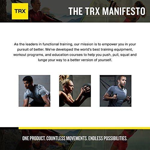 TRX Entrenamiento Mosquetón de sujeción para Sistemas de Entrenamiento en suspensión, cuelga tu Sistema de Entrenamiento en suspensión allá Donde te ...