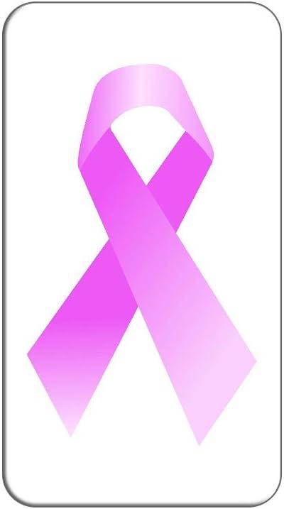 El cáncer de mama lazo rosa en Metal blanco solapa sombrero ...