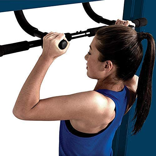 Chin Up Bar Sit Up Bar Pullup Bar Door Home Gym Exercise Equipment Strength Training Upper Body Workout Bar Chneghe Pull Up Bar for Doorway