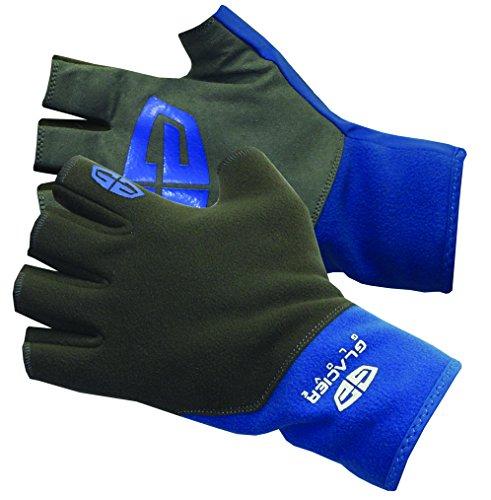 Glacier Glove Midweight Pro Fingerless Gloves, Medium